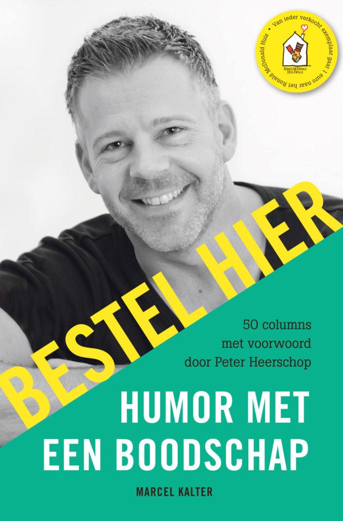 bestel hier het boek Humor met een boodschap