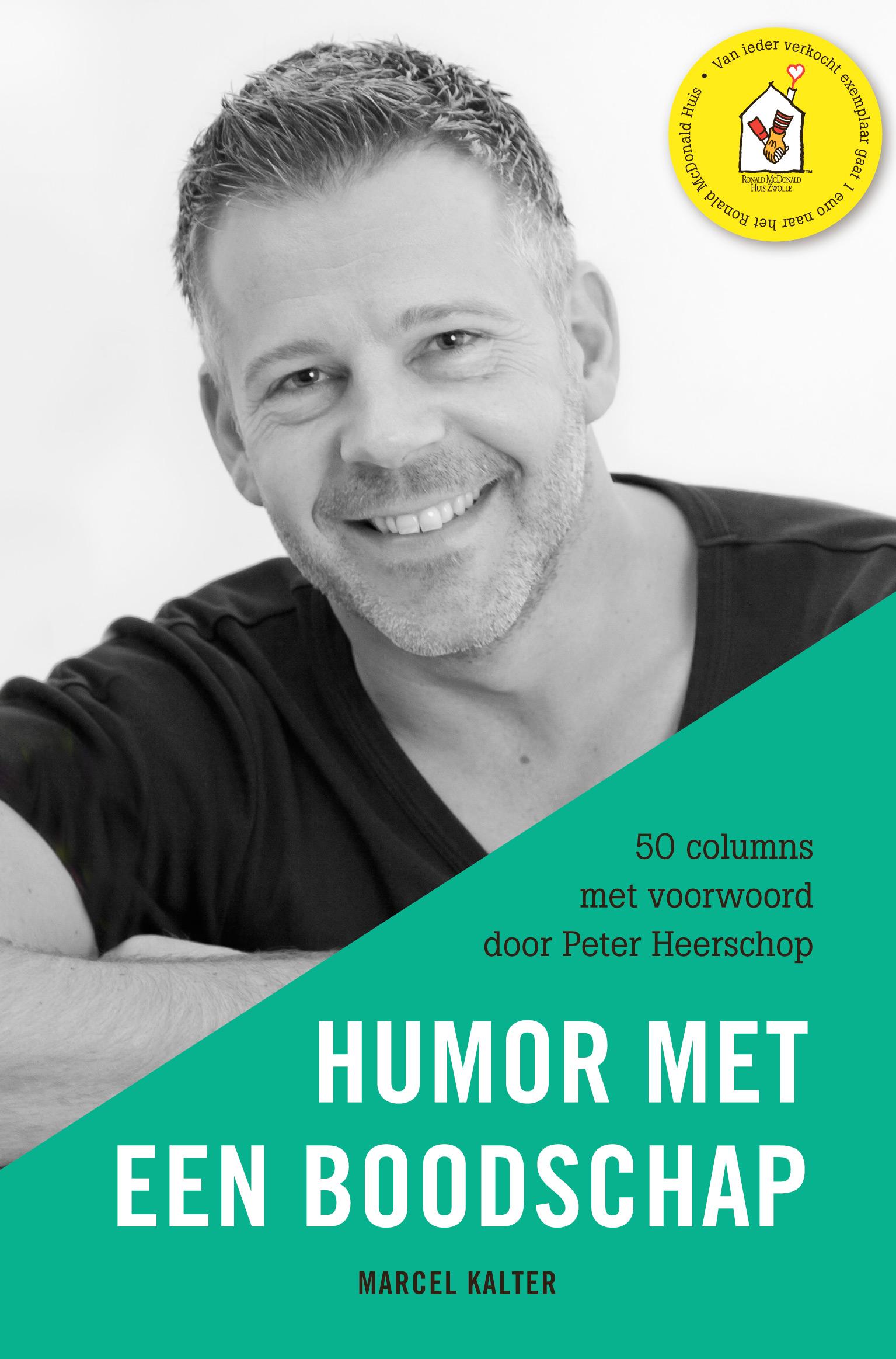 Boek Humor met een boodschap