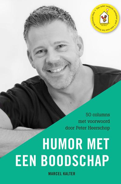 Omslag van Humor met een boodschap van Marcel Kalter